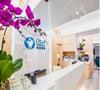 wellness clinic reception